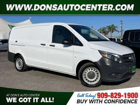 2017 Mercedes-Benz Metris for sale at Dons Auto Center in Fontana CA