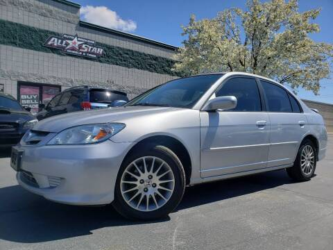 2005 Honda Civic for sale at All-Star Auto Brokers in Layton UT