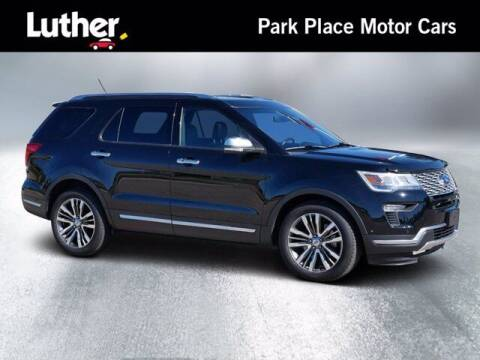 2018 Ford Explorer for sale at Park Place Motor Cars in Rochester MN