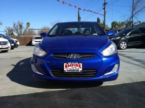 2012 Hyundai Accent for sale at Empire Auto Sales in Modesto CA