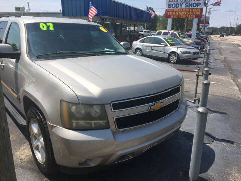 2007 Chevrolet Suburban for sale at Deckers Auto Sales Inc in Fayetteville NC