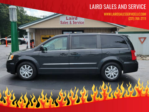 2012 Chrysler Town and Country for sale at LAIRD SALES AND SERVICE in Muskegon MI