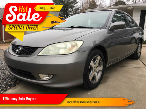 2004 Honda Civic for sale at Efficiency Auto Buyers in Milton GA