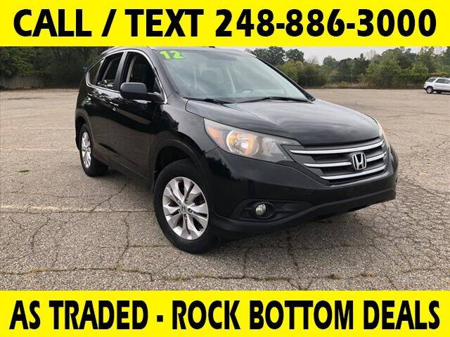 2012 Honda CR-V for sale at Lasco of Waterford in Waterford MI