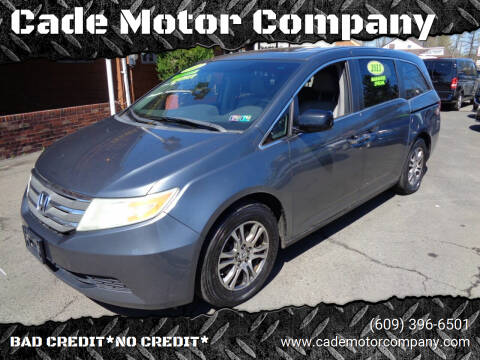 2011 Honda Odyssey for sale at Cade Motor Company in Lawrenceville NJ