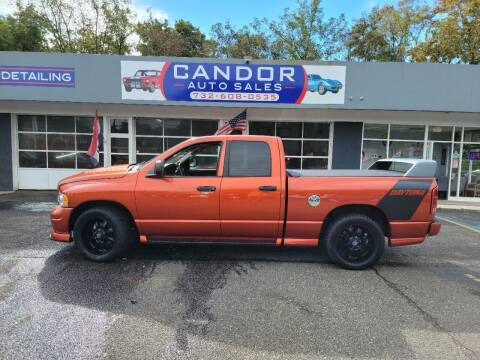 2005 Dodge Ram Pickup 1500 for sale at CANDOR INC in Toms River NJ