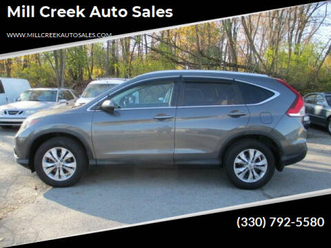 2014 Honda CR-V for sale at Mill Creek Auto Sales in Youngstown OH