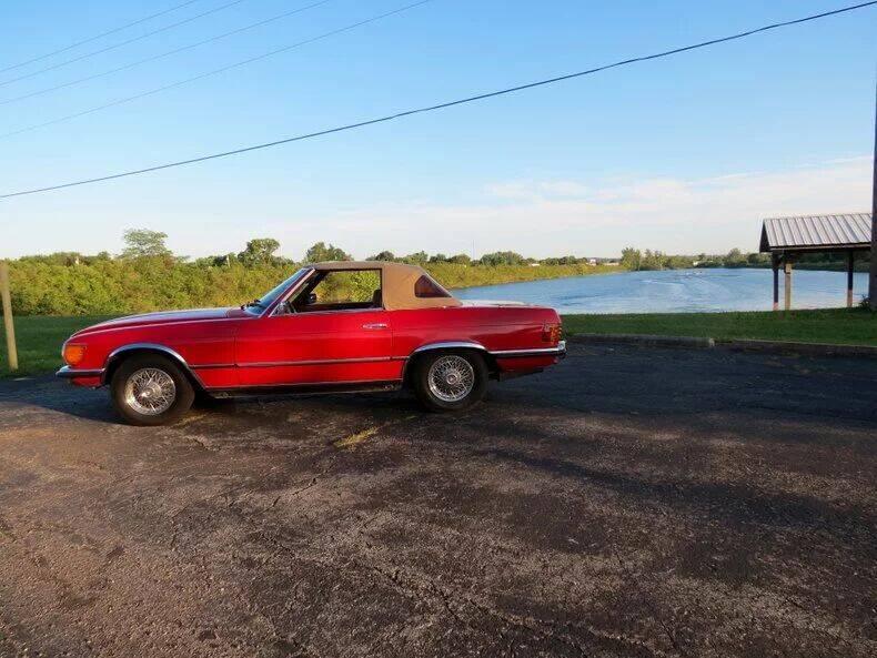 1973 Mercedes-Benz 450 SL for sale in Dayton, OH