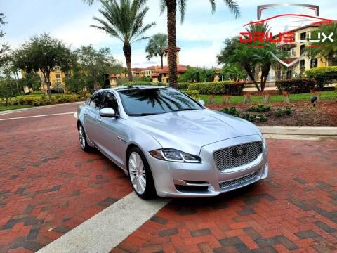 2016 Jaguar XJL for sale at DRIVELUX in Port Charlotte FL