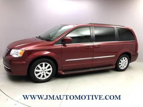 2014 Chrysler Town and Country for sale at J & M Automotive in Naugatuck CT