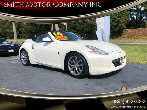 2010 Nissan 370Z for sale at Smith Motor Company INC in Mc Cormick SC