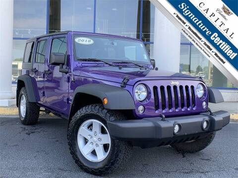 2018 Jeep Wrangler JK Unlimited for sale at Southern Auto Solutions - Capital Cadillac in Marietta GA