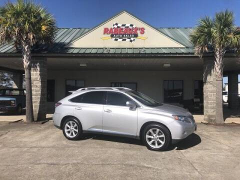 2010 Lexus RX 350 for sale at Rabeaux's Auto Sales in Lafayette LA