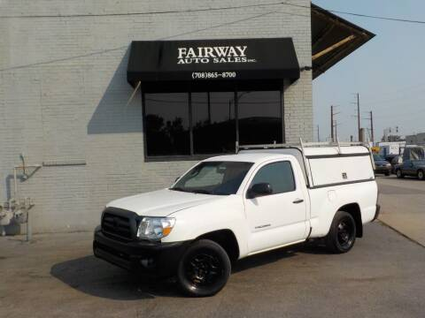 2010 Toyota Tacoma for sale at FAIRWAY AUTO SALES, INC. in Melrose Park IL