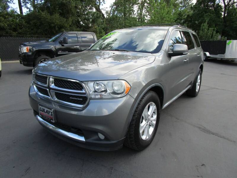 2011 Dodge Durango for sale at LULAY'S CAR CONNECTION in Salem OR