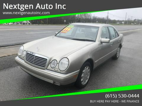 1998 Mercedes-Benz E-Class for sale at Nextgen Auto Inc in Smithville TN