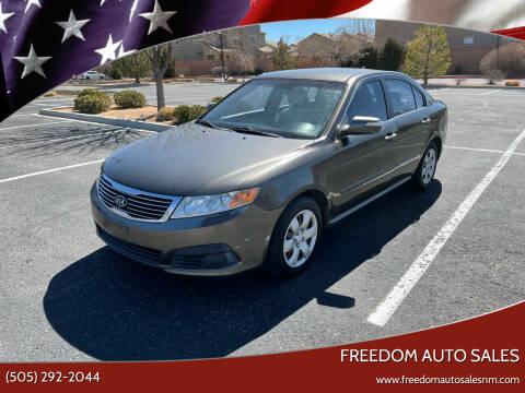 2009 Kia Optima for sale at Freedom Auto Sales in Albuquerque NM