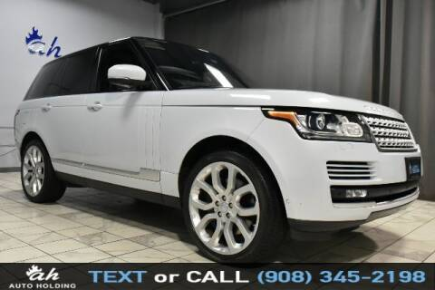 2016 Land Rover Range Rover for sale at AUTO HOLDING in Hillside NJ