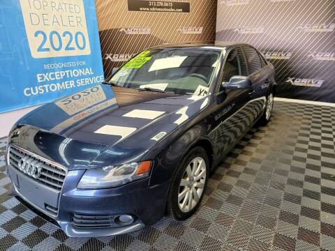2012 Audi A4 for sale at X Drive Auto Sales Inc. in Dearborn Heights MI