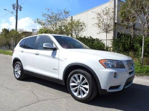 2014 BMW X3 for sale at SUPER DEAL MOTORS in Hollywood FL