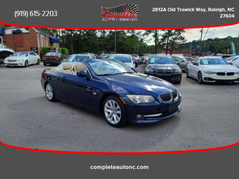 2011 BMW 3 Series for sale at Complete Auto Center , Inc in Raleigh NC