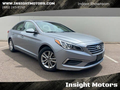 2017 Hyundai Sonata for sale at Insight Motors in Tempe AZ