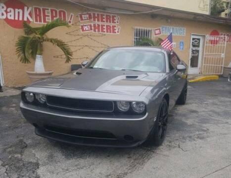 2012 Dodge Challenger for sale at VALDO AUTO SALES in Miami FL