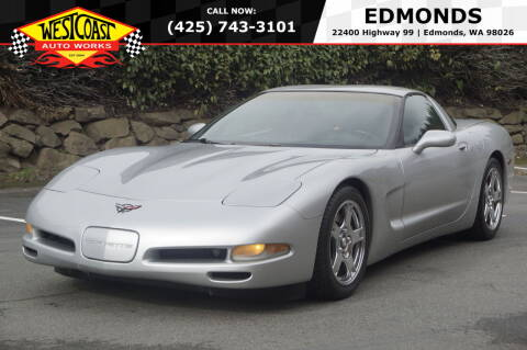 1999 Chevrolet Corvette for sale at West Coast Auto Works in Edmonds WA