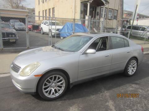 2004 Infiniti G35 for sale at Cali Auto Sales Inc. in Elizabeth NJ