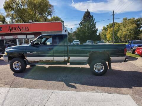 2001 Dodge Ram Pickup 2500 for sale at RIVERSIDE AUTO SALES in Sioux City IA