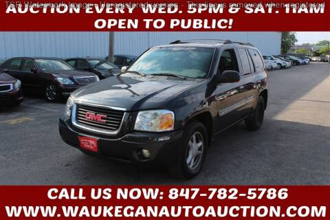 2002 GMC Envoy for sale at Waukegan Auto Auction in Waukegan IL