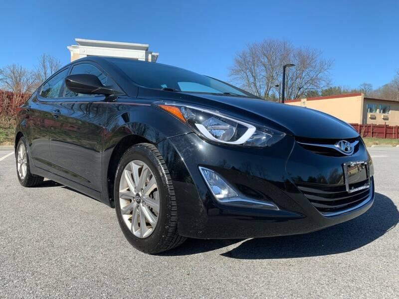 2015 Hyundai Elantra for sale at Auto Warehouse in Poughkeepsie NY