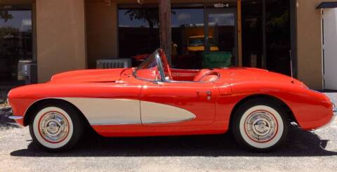 1957 Chevrolet Corvette for sale at Suncoast Sports Cars and Exotics in West Palm Beach FL