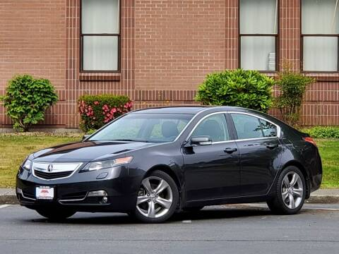 2013 Acura TL for sale at SEATTLE FINEST MOTORS in Lynnwood WA