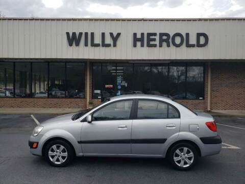 2009 Kia Rio for sale at Willy Herold Automotive in Columbus GA