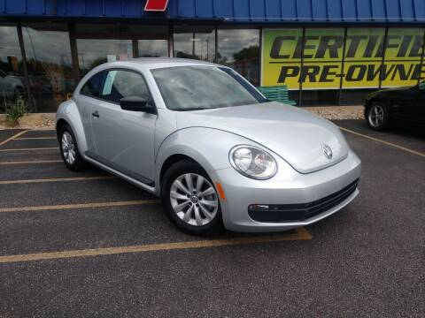 2016 Volkswagen Beetle for sale at CITY SELECT MOTORS in Galesburg IL
