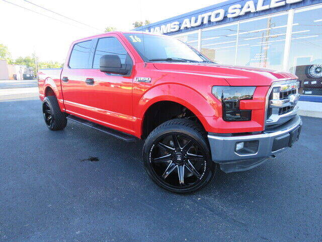 2016 Ford F-150 for sale at Williams Auto Sales, LLC in Cookeville TN