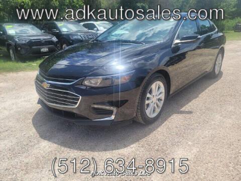 2018 Chevrolet Malibu for sale at ADK AUTO SALES LLC in Austin TX
