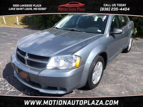 2010 Dodge Avenger for sale at Motion Auto Plaza in Lakeside MO