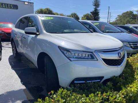 2014 Acura MDX for sale at Mike Auto Sales in West Palm Beach FL