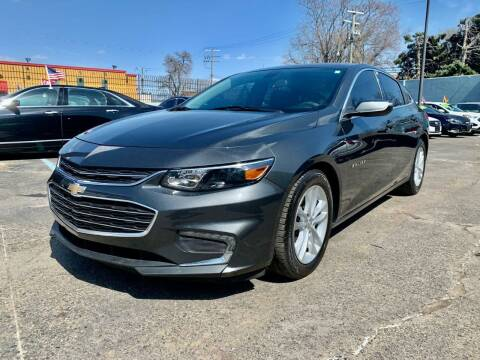 2017 Chevrolet Malibu for sale at Gus's Used Auto Sales in Detroit MI