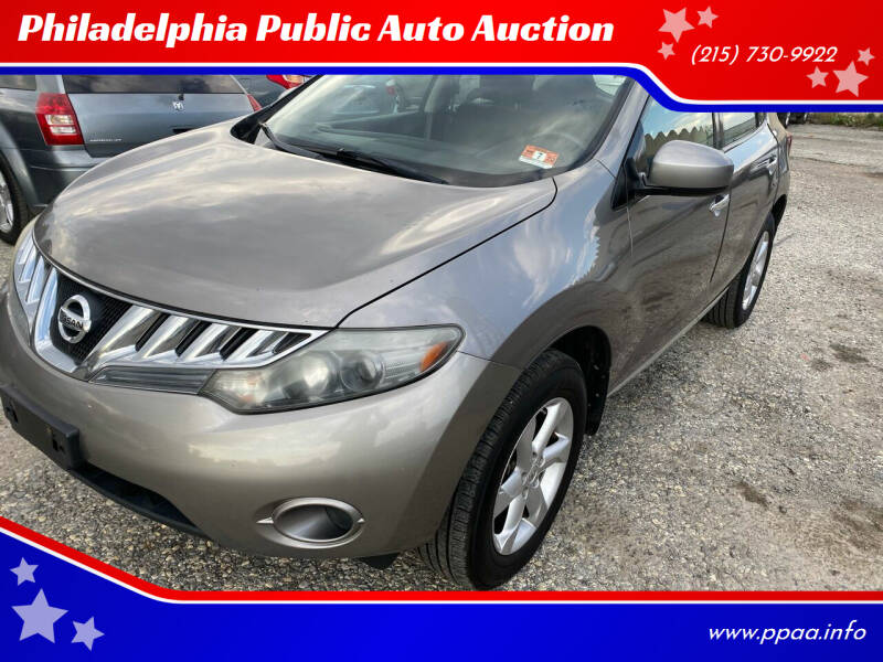 2009 Nissan Murano for sale at Philadelphia Public Auto Auction in Philadelphia PA