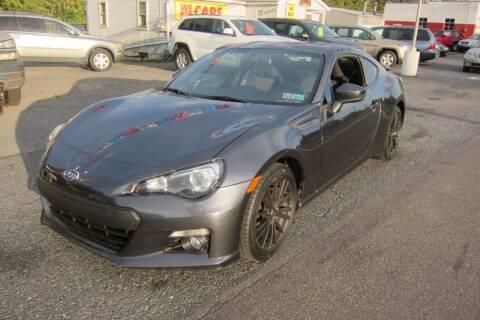 2013 Subaru BRZ for sale at K & R Auto Sales,Inc in Quakertown PA