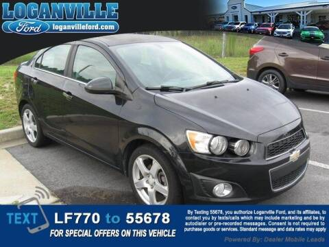 2015 Chevrolet Sonic for sale at Loganville Ford in Loganville GA