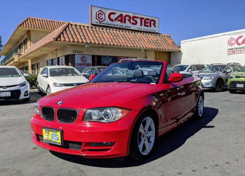 2010 BMW 1 Series for sale at CARSTER in Huntington Beach CA