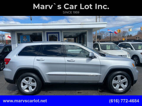 2011 Jeep Grand Cherokee for sale at Marv`s Car Lot Inc. in Zeeland MI