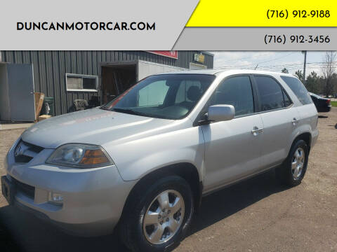 2004 Acura MDX for sale at DuncanMotorcar.com in Buffalo NY