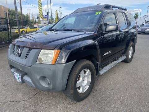 2007 Nissan Xterra for sale at Salem Motorsports in Salem OR