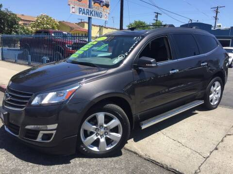 2016 Chevrolet Traverse for sale at 2955 FIRESTONE BLVD in South Gate CA
