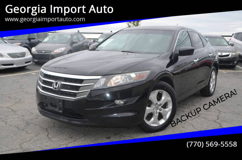 2012 Honda Crosstour for sale at Georgia Import Auto in Alpharetta GA